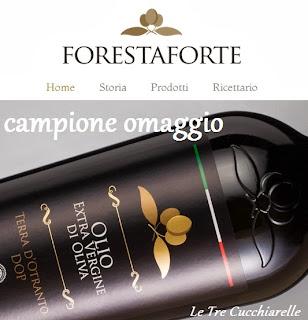 omaggio - campione olio extravergine di oliva