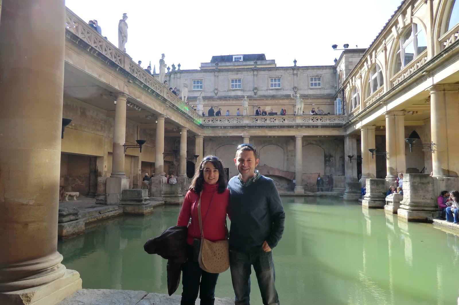 Baños Romanos Inglaterra:El mundo a tus pies: Weekend en Bath y Bristol I