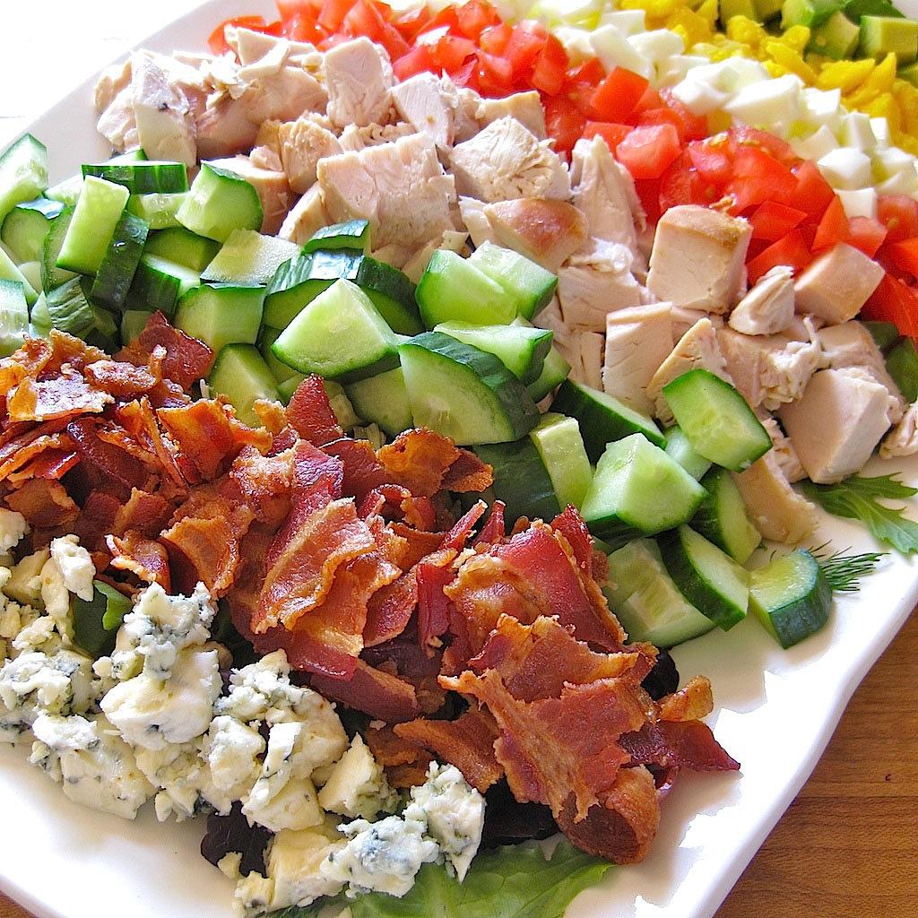 Cobb Salad Recipe — Dishmaps