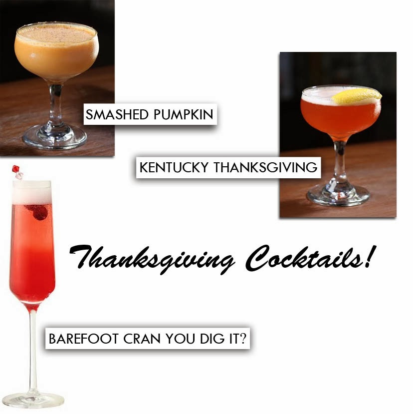 3 Thanksgiving Cocktails