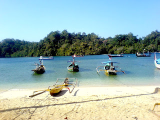 Sempu Island by indonesian tourism
