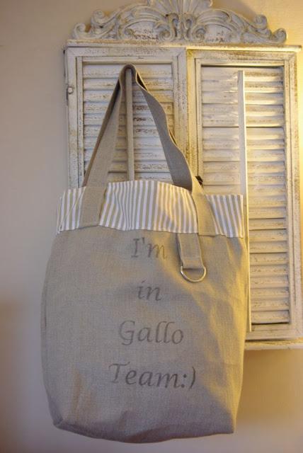 lniana torba, len na torbę, torba rękodzieło, torba z lnu, torba na zakupy, torba Gallo