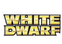 Logotipo de la revista White Dwarf