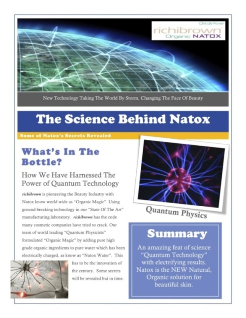 The Science of Natox