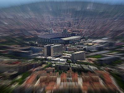 Camp Nou, the FC Barcelona Stadium
