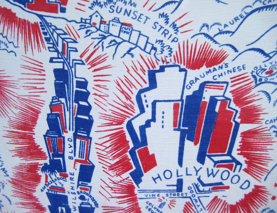 Vintage Tablecloth Of Los Angeles U0026 The Sister Cities. Thanks Michelle! I  Love It.