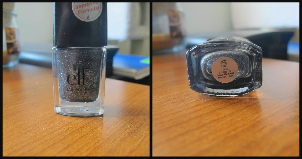 The Life of Annelise: NOTD: E.L.F. Metal Madness