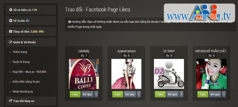 Cách tăng like fanpage facebook nhanh nhất không tốn tiền