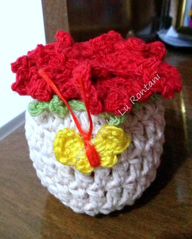 Sachê de vasinho de flor