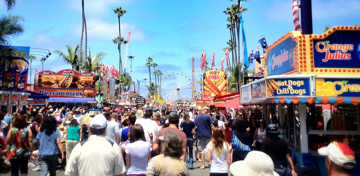 San Diego County Fair in Del Mar Summer California Travel and Adventure