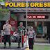 Bersama Dandim 0817/Gresik, Kapolres Pimpin Apel Siaga Pengamanan Natal Tahun 2018 Polres Gresik