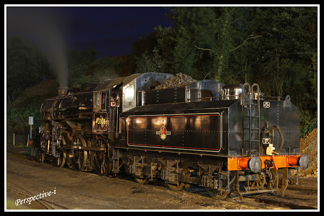 SVR Severn Valley Railway 'Flying Pig' 2-6-0 Ivatt Class 4 Engine 43106 at Bridgnorth