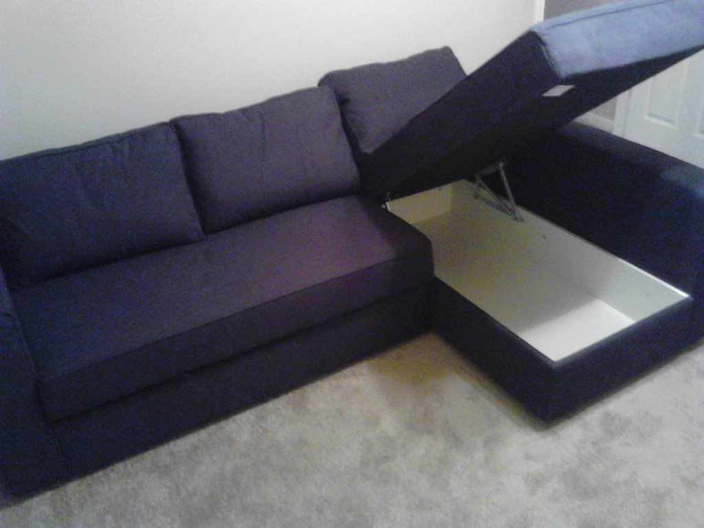 IKEA Corner Sofa Bed 1024 x 768