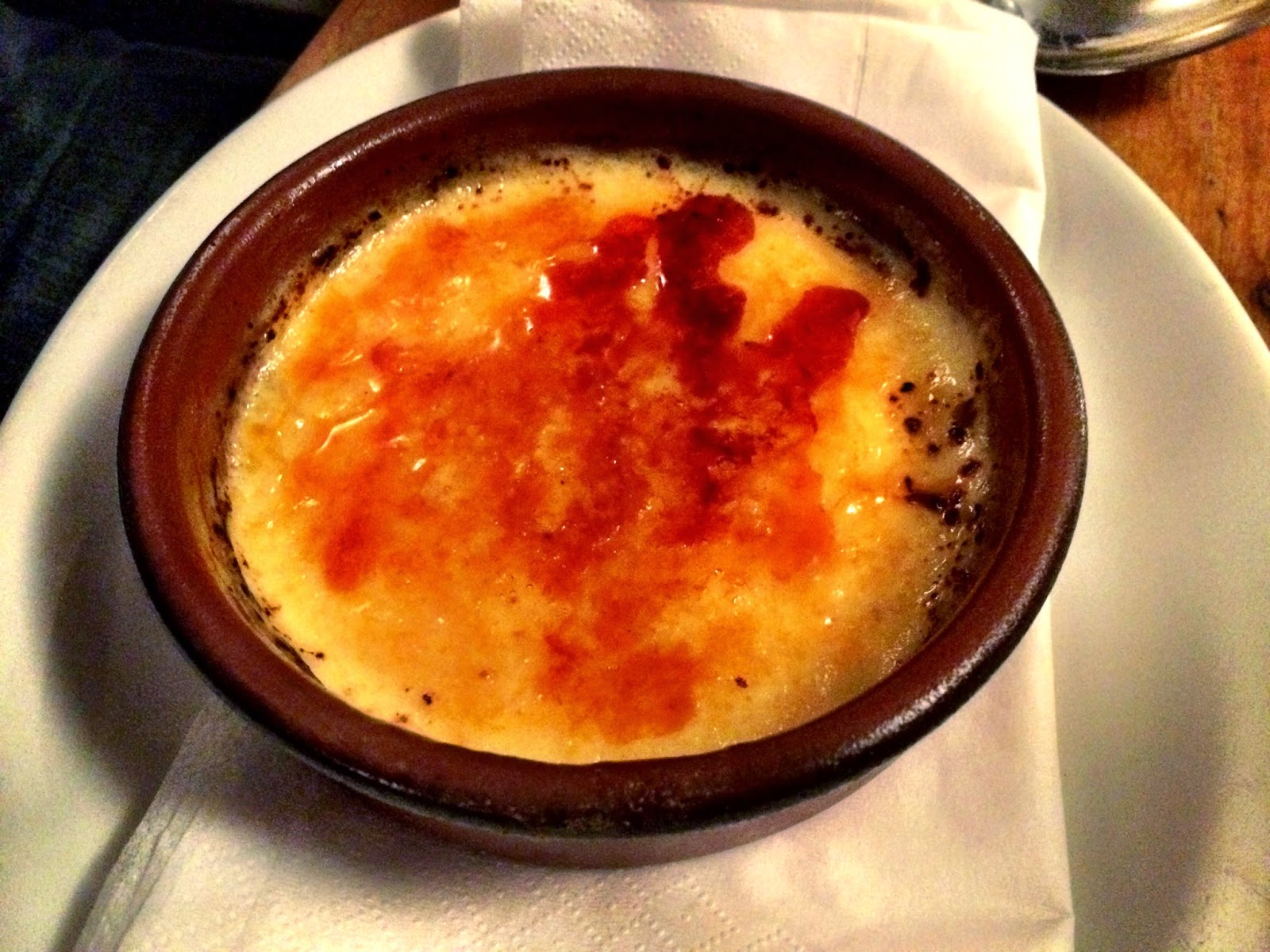 Creme brulee - White Hart, Whelpley Hill