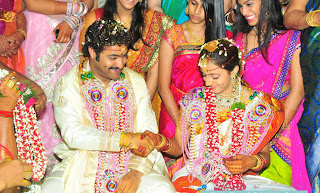 jr ntr lakshmi pranathi photos, jr ntr lakshmi pranathi marriage stills, lakshmi pranathi jr ntr photos4