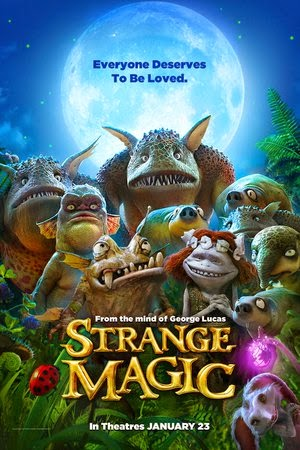 Poster Strange Magic 2015
