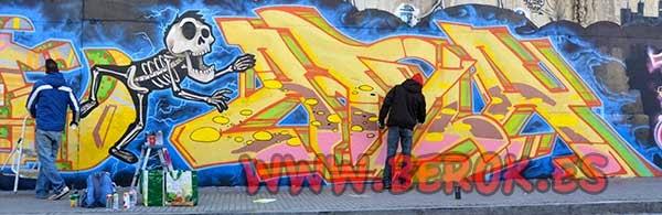 Graffiti Terrassa 2015