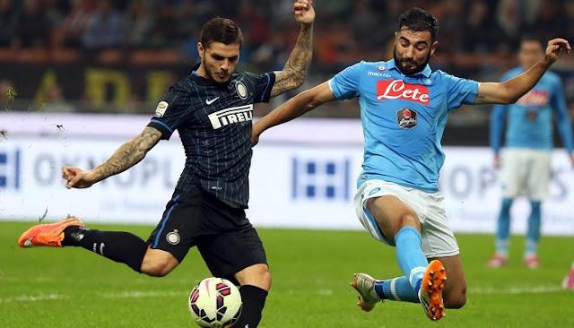 Ver partido Napoli vs Inter en vivo