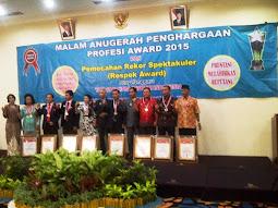 Penghargaan TOP KULINER INDONESIA AWARD 2015