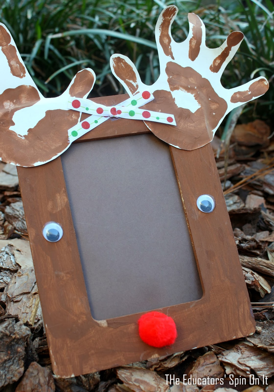 the educators 39 spin on it preschool reindeer crafts and On christmas picture frame craft