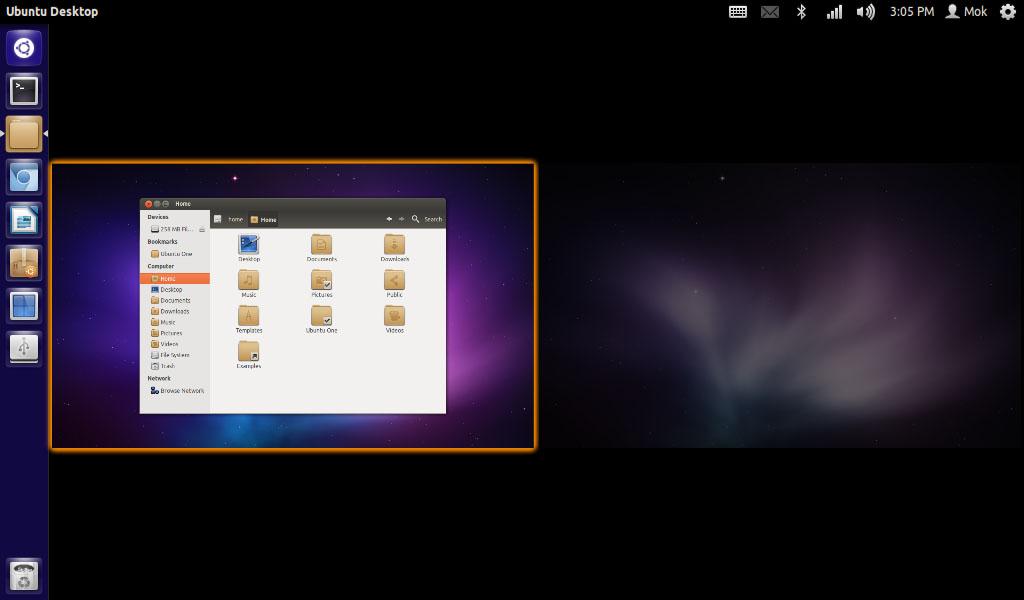 Ubuntu - workspaces