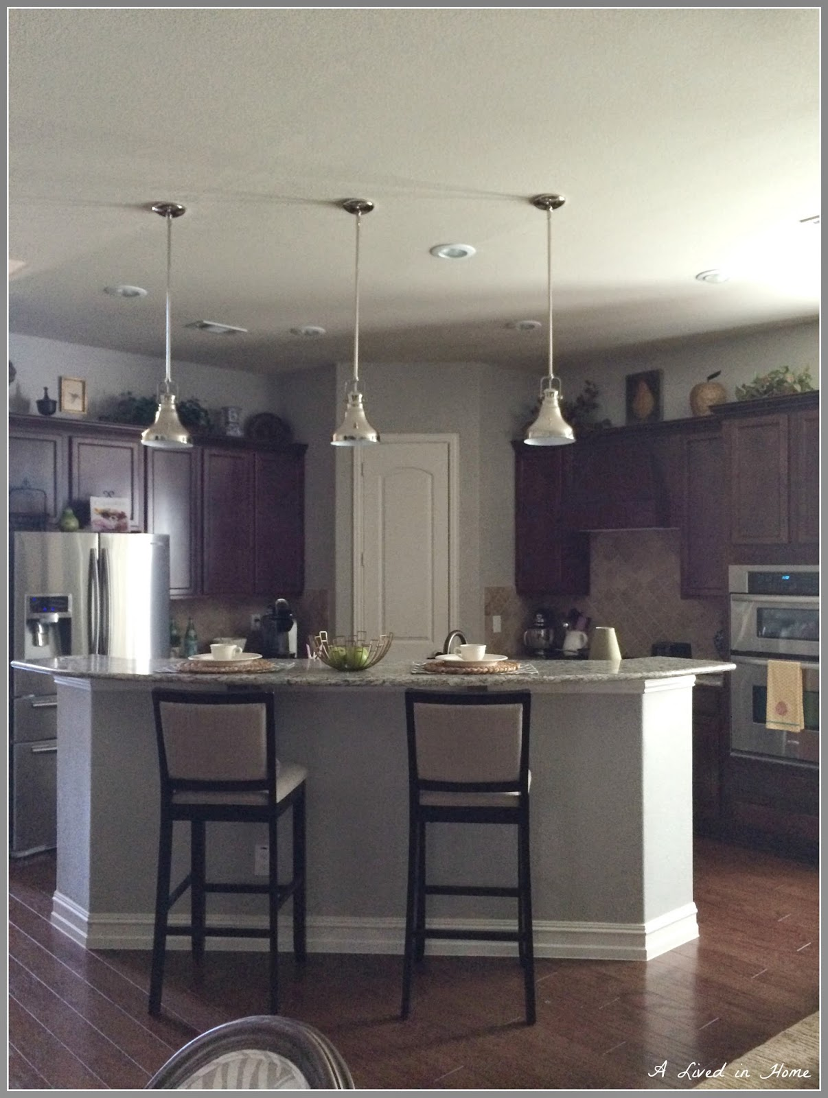 A Lived in Home Kitchen Lighting