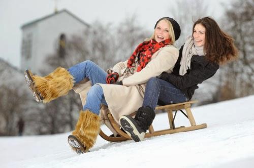 activitati fizice iarna femei