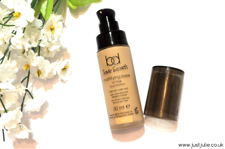 BD Trade Secrets Mattifying Base Oil Free Foundation