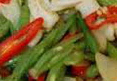 resep praktis, mudah sayur tumis buncis spesial Enak, gurih, lezat