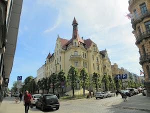 Particolare di Riga in Lettonia (foto ap)