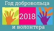 2018 год-год ДОБРОВОЛЬЦА И ВОЛОНТЕРА