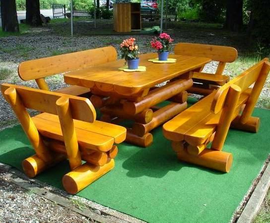 Muebles de Madera para Jardín