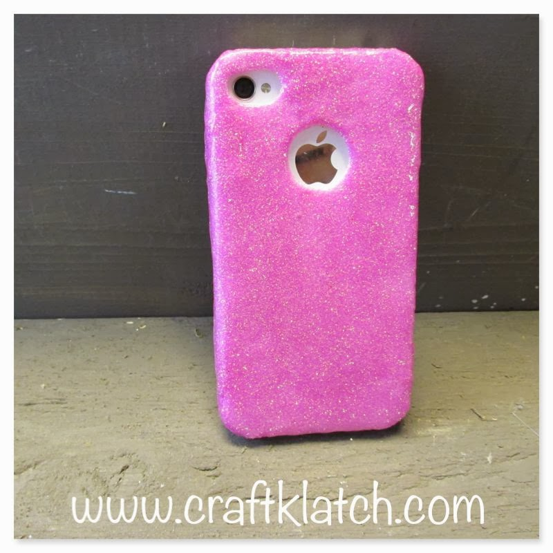 How to how to make a homemade phone case : glitter, cell phone, cellphone, case, cover, mod podge, craft, crafts ...