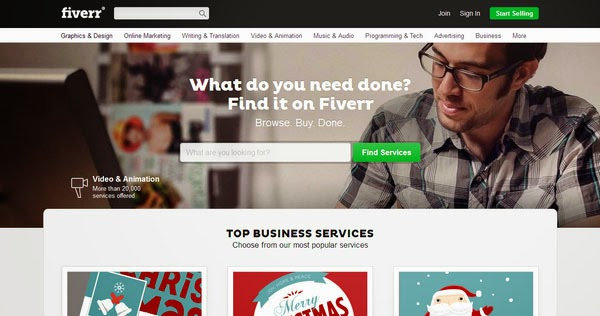 Top 3 Fiverr Alternatives
