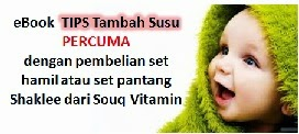 eBOOK Tips Tambah Susu PERCUMA!