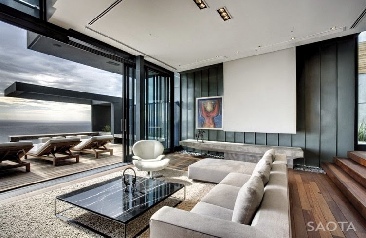 Architecture nettleton 195 house by saota and antoni associates arquitexs - Moderne lounges fotos ...