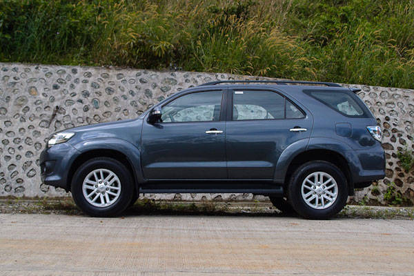TOYOTA Fortuner 2.7 G Lux TRD A/T Bensin