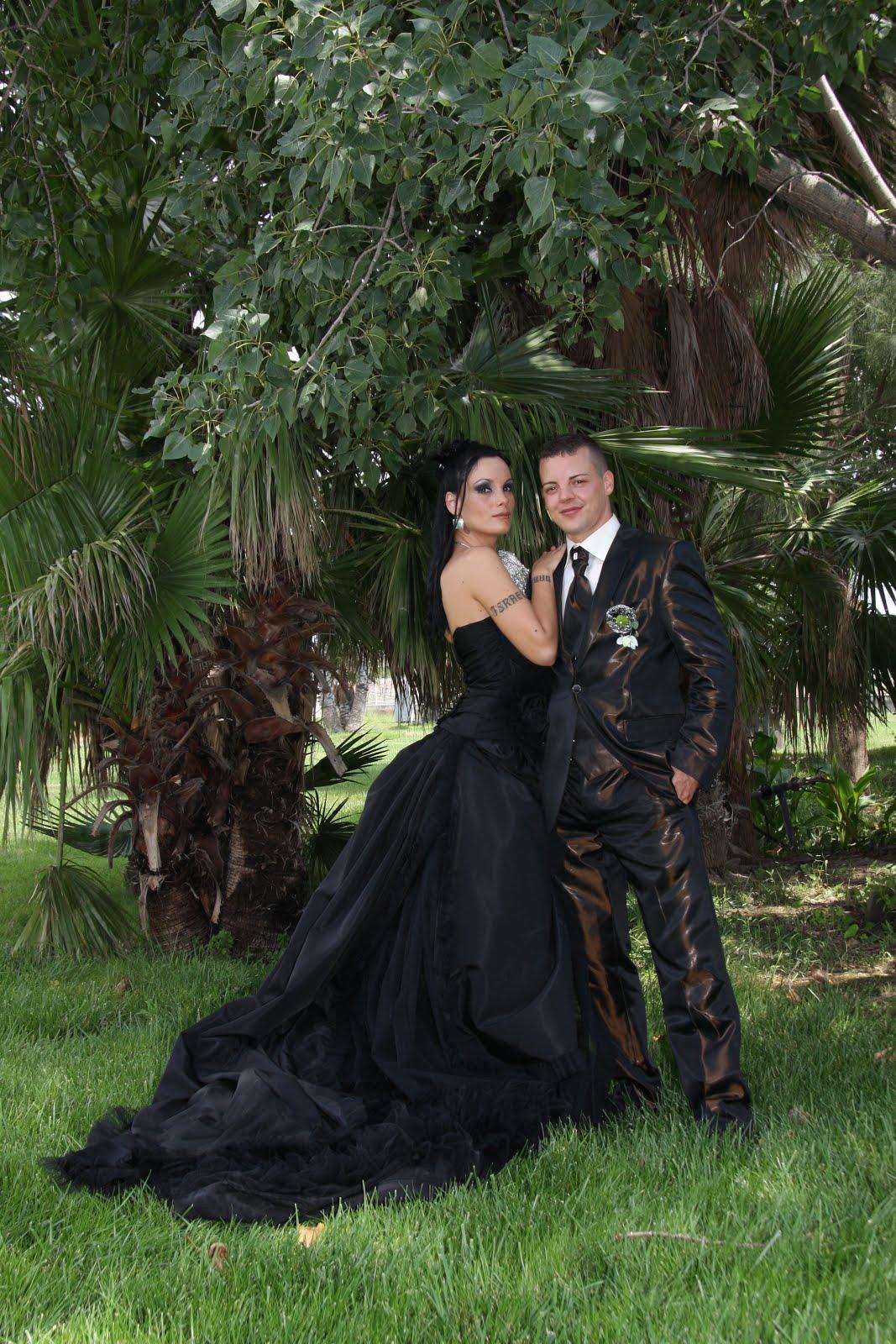 Married in black