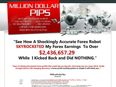Million dollar pips forex robot