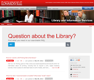 Lovejoy Library at Southern Illinois University Edwardsville
