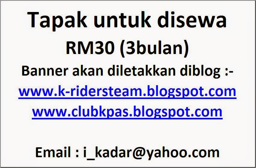 1)Email banner/Iklan anda kepada i_kadar@yahoo.com .2)Kami akan emailkan bank Acc. 3)setelah pembayaran disahkan kami akan pamirkan iklan anda