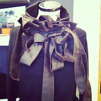 rew collar christine scarf