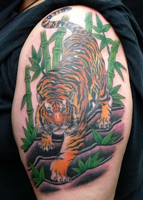 tiger tattoo design