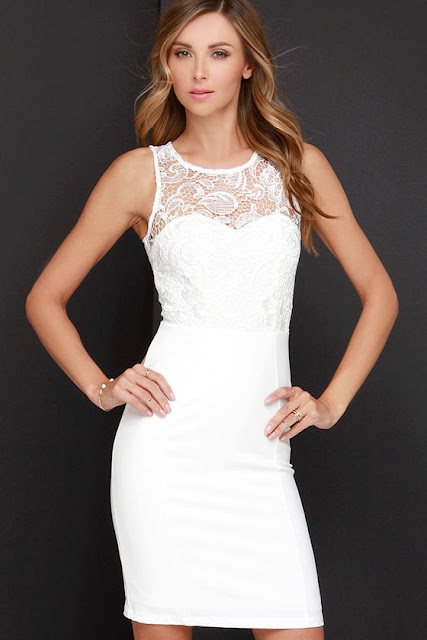 Stars Ivory Lace Midi Dress or 54$