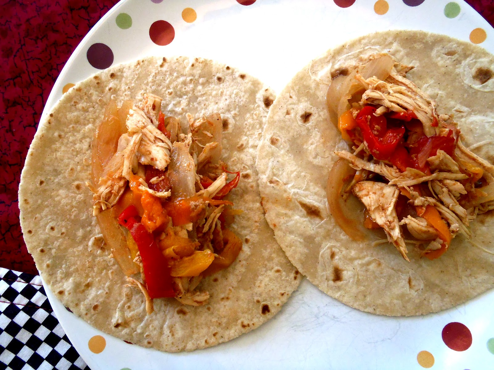 Macke Monologues: Crock Pot Chicken Fajitas