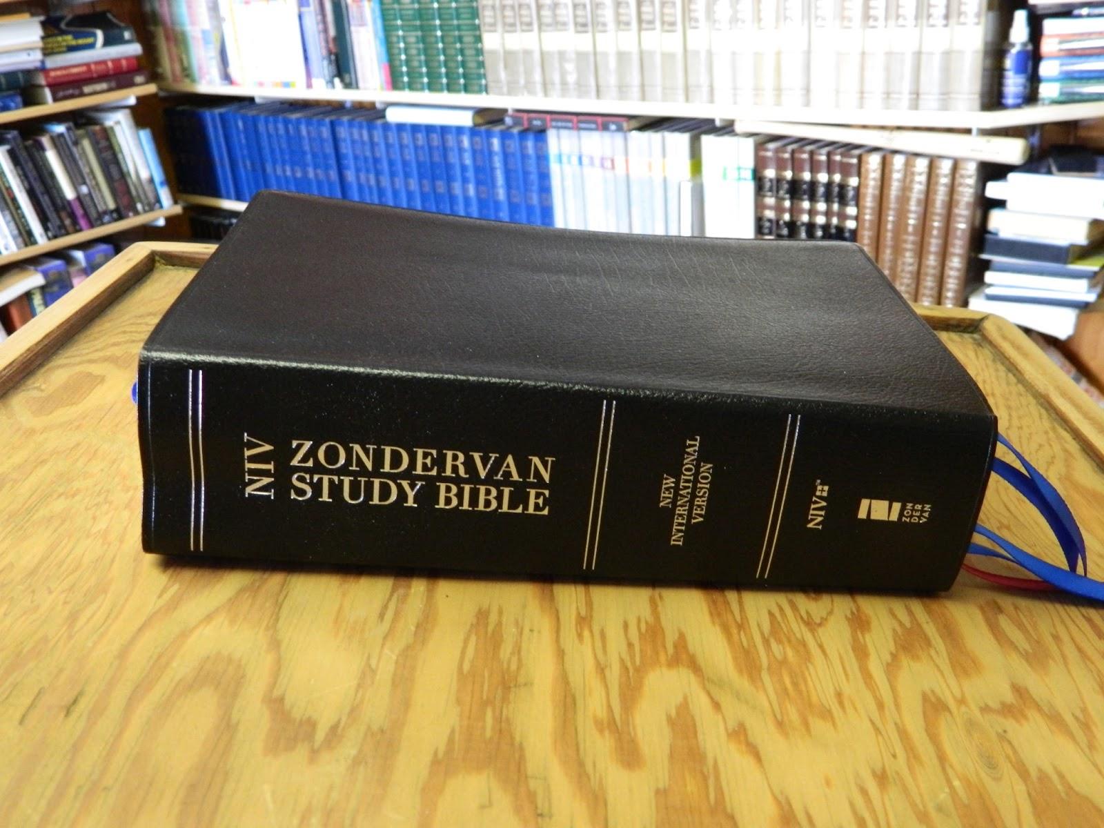 KJV Zondervan Study Bibles - allbibles.com
