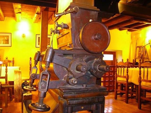 Restaurante el Molino de la Losa - maquinaria