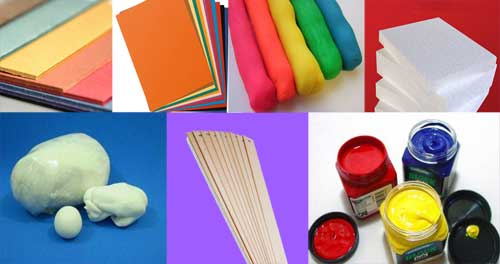 materiales para hacer maquetas