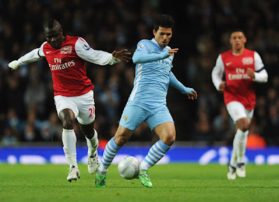 Arsenal 0 - 1 Manchester City (2)