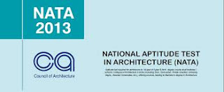 NATA 2013-National Aptitude Test in Architecture